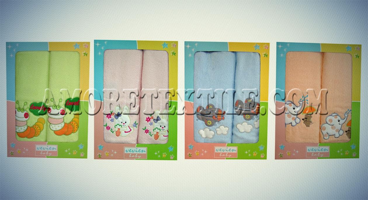 подарочный набор детских полотенец